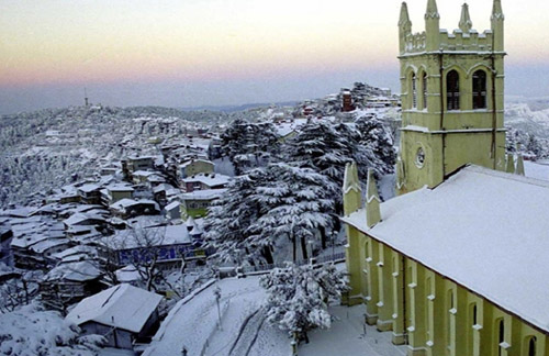 Shimla with Golden Triangle
