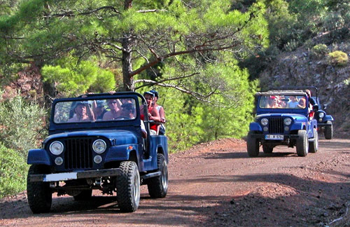 Soft Adventure Jeep Safari Tours